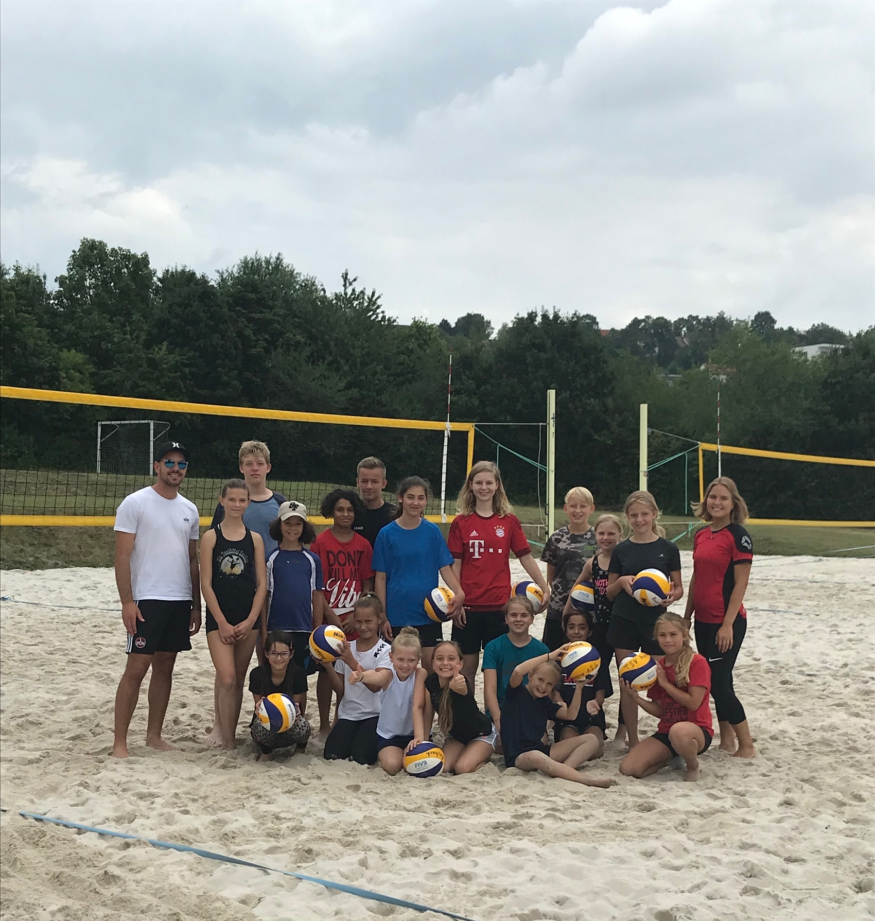 Ferienpass meets Beachvolleyball
